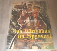 A1 Filmplakat  DAS WIRTSHAUS VON SPESSART, LISELOTTE PULVER,CARlOS THOMPSON