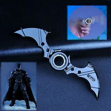 New Batman Batarang Fidget Spinner Ring Alloy Spinner ADHD Anti-Autism Kids Toy