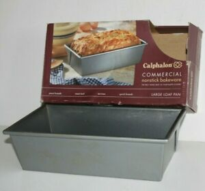 """Calphalon Nonstick Commercial Bakeware 5"""" x 10"""" Large Loaf Pan"""