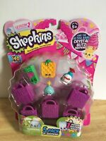 Shopkins Season 2  - 5 Pack - Rare Sizzles Pack - NEW -  Assorted Styles