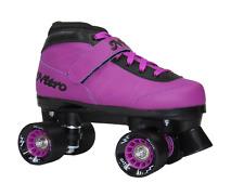 Epic Nitro Turbo Purple Indoor Outdoor Quad Roller Speed Skates
