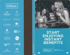 (06182) Hilton Hotel Guest Room Keycard (collectable item only)