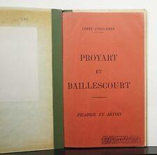 Proyart et Baillescourt: Picardie at Artois c1951 Comte d'Esclaibes Genealogy