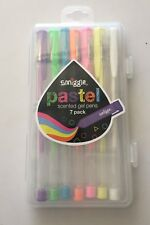 Brand New SMIGGLE Pastel Scented Gel Pens x 7