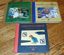LOT 3 HCDJ Nick Bantock trilogy GRIFFIN & SABINE NOTEBOOK GOLDEN MEAN Excel Cond