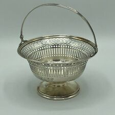 Watson Sterling Silver Reticulated Basket 90g CT