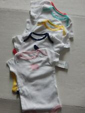 New! Girls Carter'S Size 9 Mo 5 Pieces Bodysuit Creeper 1 Piece Underwear