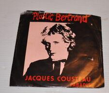 PLASTIC BERTRAND : Jacques Cousteau - Paradis 7 inch RECORD 1981