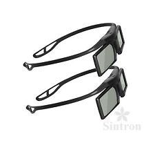 [Sintron] 2X 3D RF Active Glasses for US 2018 Sony 3D TV KDL-60W850B KDL-70W850B
