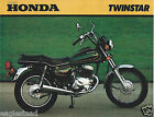 Motorcycle Brochure - Honda - Twinstar - 1980 (DC431)