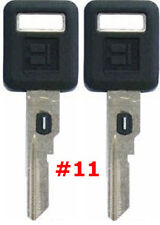 2 NEW GM Single Sided VATS Ignition Key #11 UNCUT V.A.T.S B62-P11