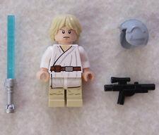 NEW LEGO STAR WARS LUKE SKYWALKER MINIFIG from 7965 figure minifigure
