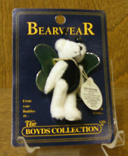 Boyds Plush Bearwear Pin 599912-07 Thistle F. Wuzzie, New/tags From Retail Store