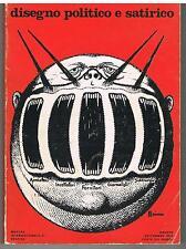DISEGNO POLITICO E SATIRICO - 1° CATALOGO MOSTRA GRAFICA - FORTE DEI MARMI 1974