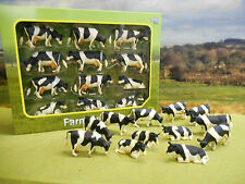 KIDS GLOBE  FARM FRIESIAN COWS  PACK OF 12 1/32  *BOXED & NEW*