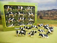 KIDS GLOBE  FARM FRIESIAN COWS  PACK OF 12 1/32  *BOXED & NEW*