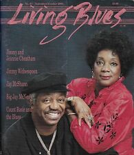 LIVING BLUES MAGAZINE NUMBER 93 SEPT/OCT 1990 JIMMY WITHERSPOON COUNT BASIE