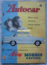 Autocar magazine 22/5/1959 featuring Auto Union road test