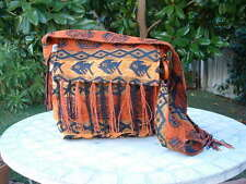 Messenger ETHNIC cross body bag tapestry terracotta from Peru