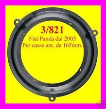 Coppia Supporti montaggio casse da 165 mm Fiat panda ant 2003 > 3/821 Phonocar