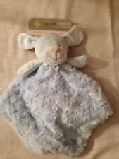 Blankets and Beyond Dog Blue Swirl Plush Security Blanket NWT