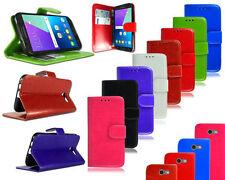 Fundas y carcasas Para Samsung Galaxy J3 color principal negro de piel para teléfonos móviles y PDAs
