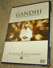 Gandhi (DVD, 2001, Special Edition),NEW & SEALED, WIDESCREEN, REGION 1, 8 OSCARS