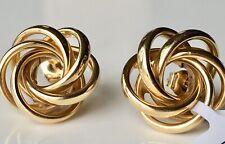 Macy's Multi-Ring Love Knot Stud Earrings in 14k Gold