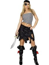 Sexy Shipmate Costume Sexy Pirate Lady Size Medium UK 12-14 Ladies Fancy Dress