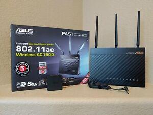 ASUS RT-AC68U AC1900 1300 Mbps 4 Port Gigabit Wireless AC Router AiMesh