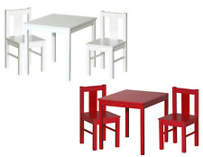 tische und st hle set aus massivholz f r kinder g nstig kaufen ebay. Black Bedroom Furniture Sets. Home Design Ideas