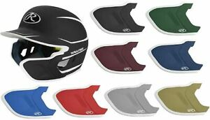 Rawlings Mach EXT Batting Helmet Extension Flap Piece Left & Right Handed Hitter