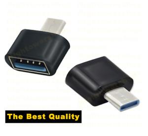 Type C USB-C 3.1 Male To USB 3.0 Female OTG Adapter Converter Data Sync. 070