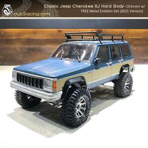 Classic Jeep Cherokee XJ Hard Body (313mm) w/ FREE Metal Emblem (2021 Version)