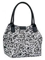 TOM TAILOR Miri Diamond Shopper Tasche Schultertasche Handtasche Black