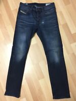 Men Diesel BUSTER STRETCH Denim 0853V DARK BLUE REGULAR SLIM W29 L30 H6 RRP£150