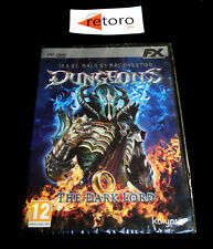 DUNGEONS THE DARK LORD PC DVD Pal-España Español NUEVO Factory SEALED Precintado