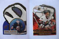 2002-03 McD Prism Platinum #5 Lalime Patrick  glove side net fusions  senators