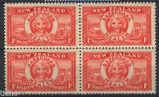 New Zealand 1936, Health issue in block of four MNH