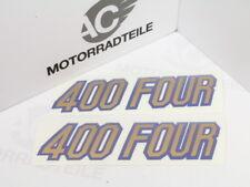 Honda CB 400 Four F2 Aufkleber Set Seitendeckel Emblem für parakeet yellow gelb