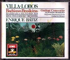 Villa-schlurick Bachianas brasilieras 1-9 Guitar Concerto Hendricks Moreno Batiz 3cd