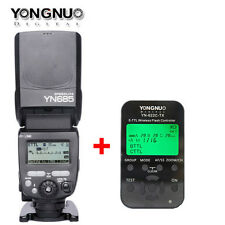 Yongnuo YN-685/C TTL HSS Flash Speedlite for Canon + YN-622-TX Flash controller