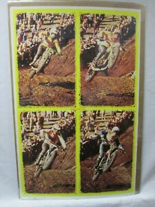 MOTO CROSS FOUR MOVIE VINTAGE POSTER GARAGE 1970'S BIKE MOTORCYCLE CNG541