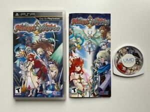 Hexyz Force - ENGLISH - Complete / MINT - PlayStation PSP Portable
