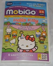 Hello Kitty Birthday Party Vtech MobiGo Touch Learning System Cartouche logiciel