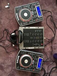 Numark NDX400 X 2 & Numark M2 Mixer !PLEASE READ DESCRIPTION!