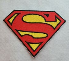 New listing Superman S Super Hero 5 inchIron on Embroidered Applique Patch