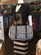 AMAZING Louis Vuitton Mini Lin Sac A Langer Monogram Gray Diaper Messenger Bag