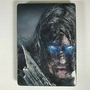 PC DVD Rom Middle Earth Shadow Of Mordor Rare Steel Case Edition