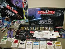 Star Trek Monopoly Game Next Generation Collector's Edition 100% complete EUC